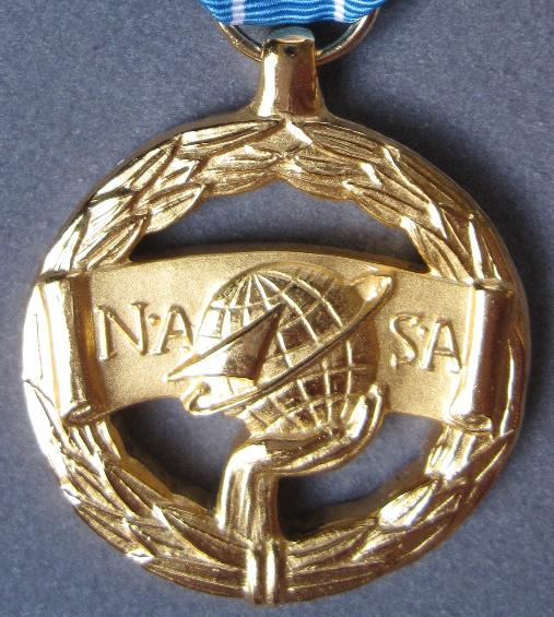 NASA Excellence in Engineering Award Medal